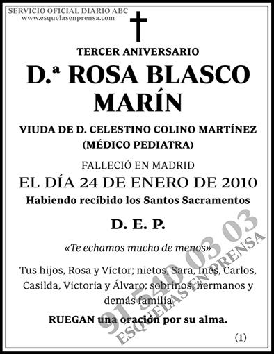 Rosa Blasco Marín